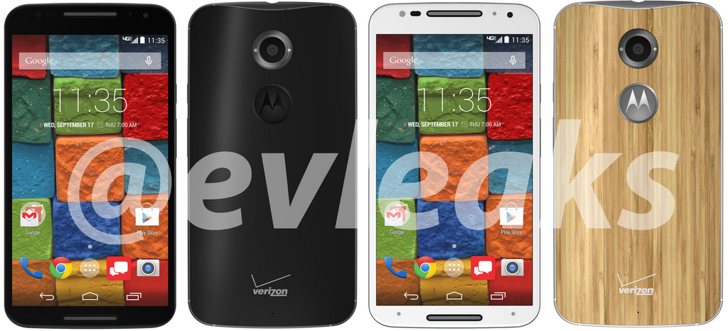 Se filtran las primeras imágenes del Motorola Moto X+1