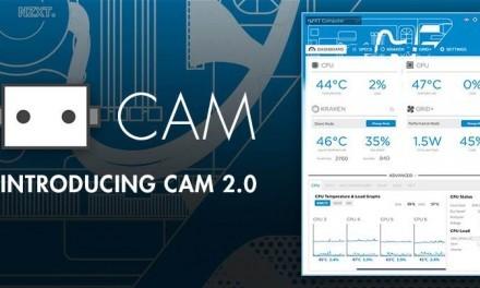 NZXT CAM 2.0, nuevo software multiplataforma para monitorización
