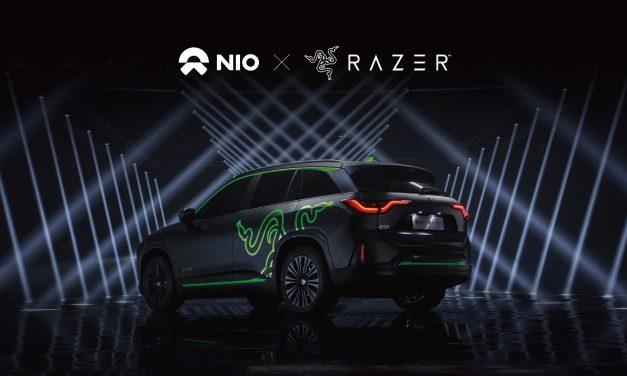 Razer y NIO allanan el camino con tecnología Chroma RGB para coches eléctricos