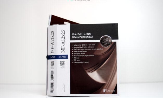 Noctua NF-A12x25 LS-PWM Review