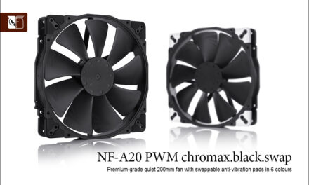 Noctua NF-A20 PWM Chromax.Black.Swap Review