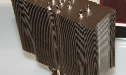 Noctua presenta un Disipador Cube Base con heatpipes
