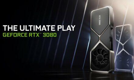 Primeros benchmarks de la Nvidia RTX 3080