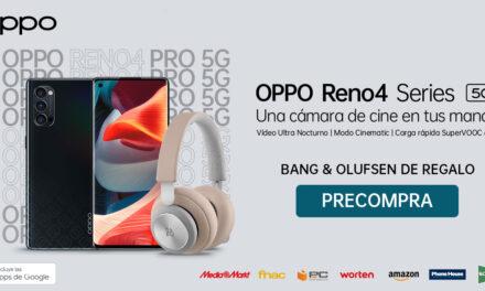 La nueva serie OPPO Reno4 Series ya disponible