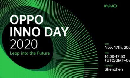 OPPO celebrará su conferencia OPPO INNO DAY 2020