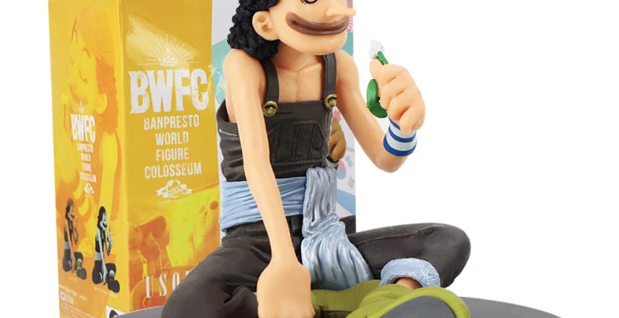 One Piece Usopp BWFC World Figure Colosseum Banpresto Review