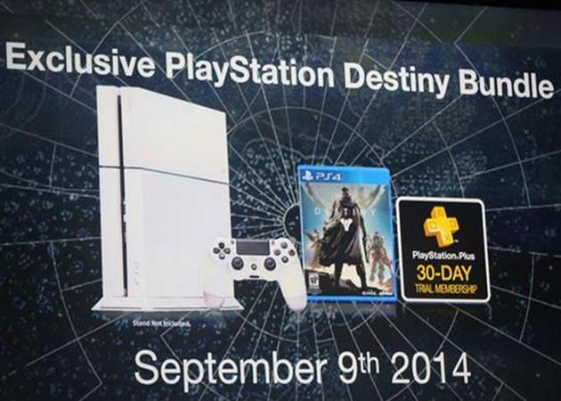 Sony anuncia Playstation 4 en color blanco