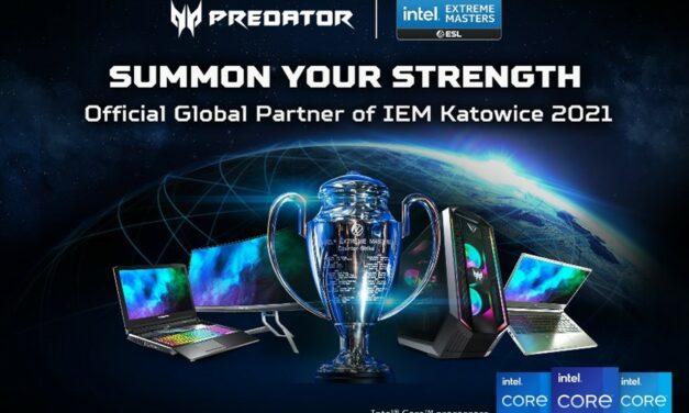 Juega como los profesionales con los ordenadores y el monitor Predator oficiales de IEM