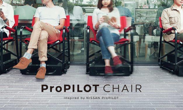 Nissan crea sillas autónomas