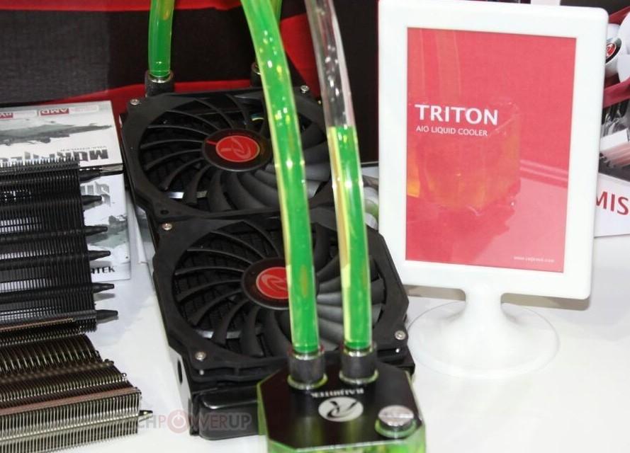 Raijintek anuncia su nueva refrigeración líquida Triton