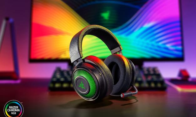 Los nuevos Razer Kraken Ultimate ofrecen la gran ventaja competitiva para los jugadores