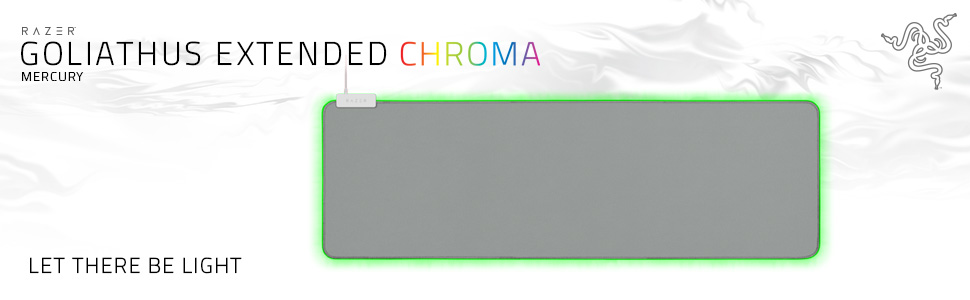 Razer Goliathus Extended Chroma Mercury – Review