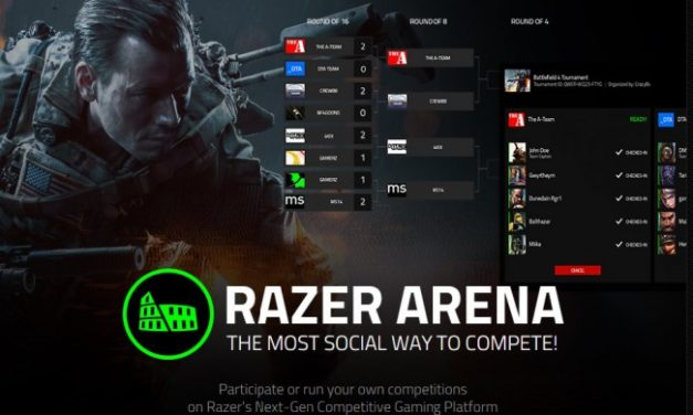Razer lanza su primer torneo abierto el Razer Naga Hex V2 Arena Tournament 2016.