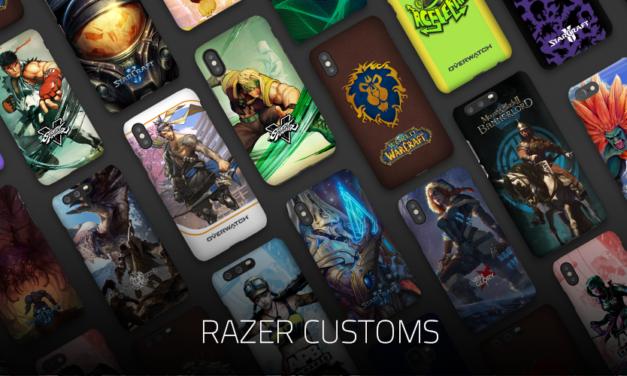 Crea un estilo para tu móvil con Razer Customs