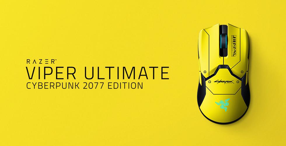 Aprovecha el día en Night City con el Razer Viper Ultimate Cyberpunk 2077 Edition