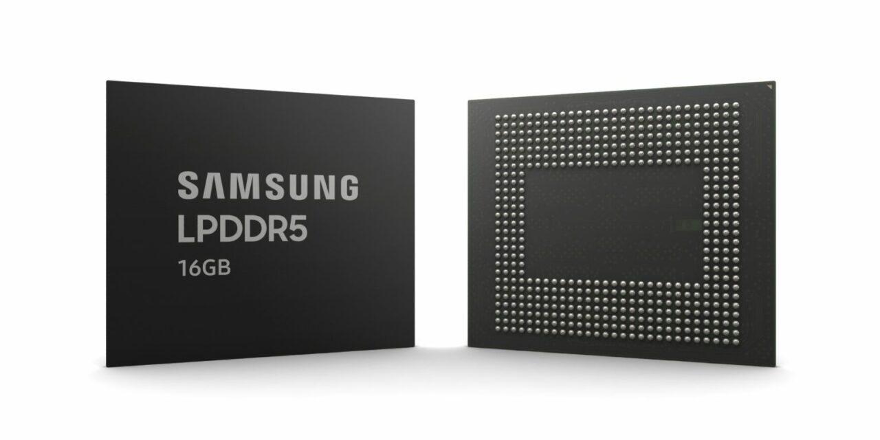 Samsung comienza a producir RAM de 16 GB para móviles