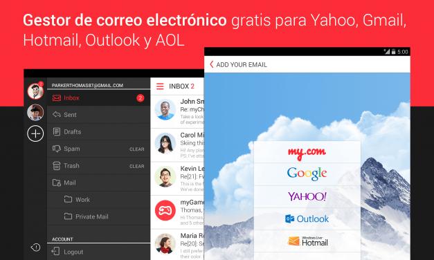 myMail, líder de descargas en España