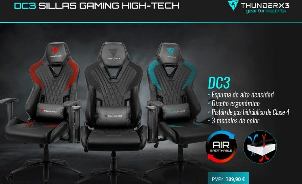 Nueva silla DC3 de ThunderX3