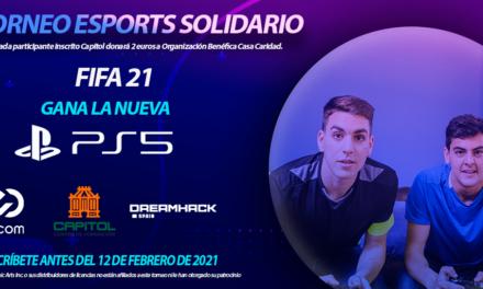 CAPITOL FORMACIÓN Y DREAMHACK SPAIN ORGANIZAN ESTE TORNEO ONLINE DE FIFA 21 QUE TENDRÁ LUGAR DEL 15 AL 22 DE FEBRERO.