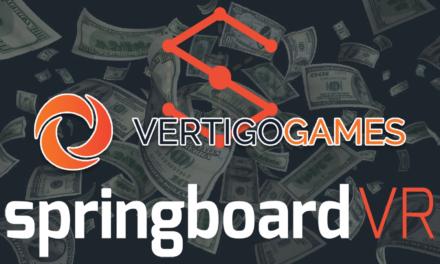 VERTIGO GAMES ADQUIERE LA PLATAFORMA ARCADE DE REALIDAD VIRTUAL SPRINGBOARDVR