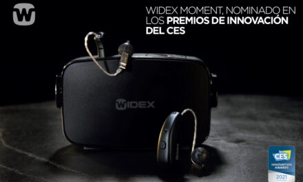 LOS WIDEX MOMENT, RECONOCIDOS EN EL CES INNOVATION AWARDS 2021