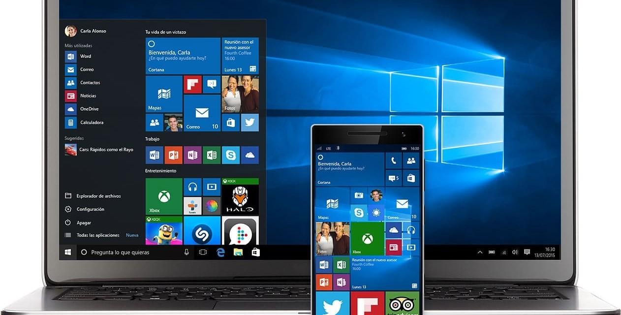 Xiaomi Mi 5 con Windows 10