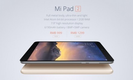 Xiaomi Mi Pad 2 presentada con Windows