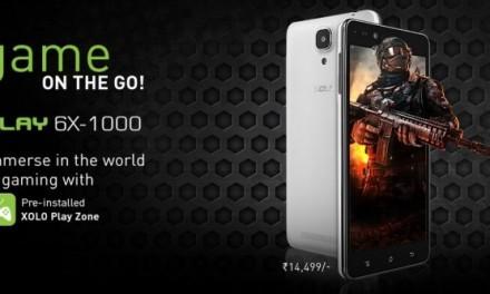 Xolo, lanzará Xolo Play 6X-1000, el smartphone para los más jugones