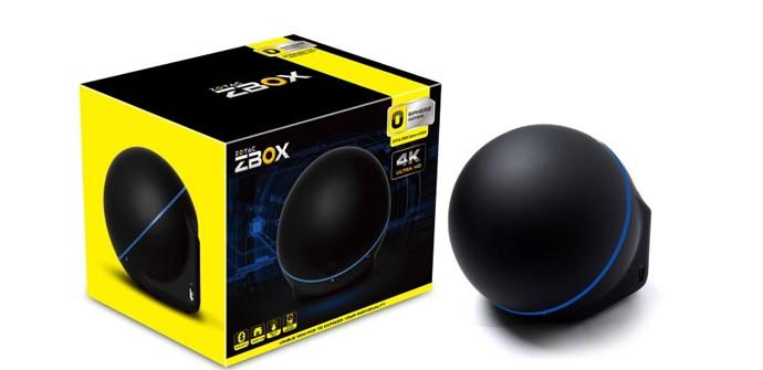 ZBOX Sphere OI520, mini PC para 4K