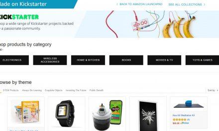 Amazon incluye una nueva categoria para proyectos de Kickstarter