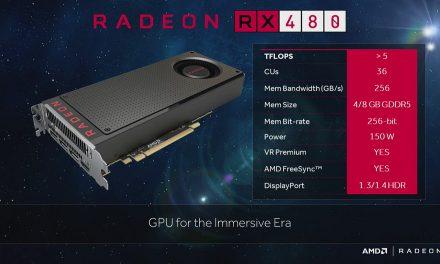 Llegan las primeras pruebas de la AMD Radeon RX 480