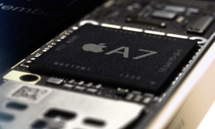 El procesador de los iphone 5S igualan a los Ivy Bridge