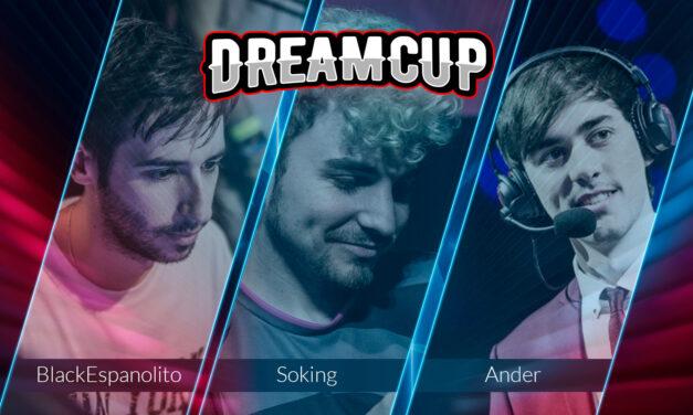 Dreamcup presenta a sus tres nuevos embajadores
