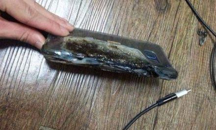 Siguen explotando smartphones, ahora es el turno del Galaxy Note 7