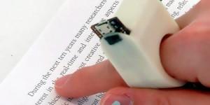 Este pequeño gadget permite leer a personas con ceguera