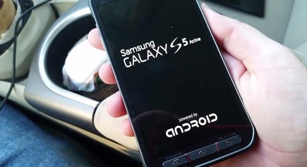 El Galaxy S5 Active se deja ver en un vídeo con todo lujo de detalles