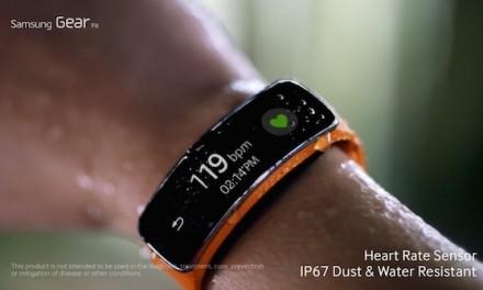 Samsung quiere que Gear Fit forme parte de tu vida… a todas horas
