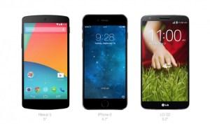 Apple necesita un iPhone 6 de 5″ pulgadas, el tamaño que domina el mercado