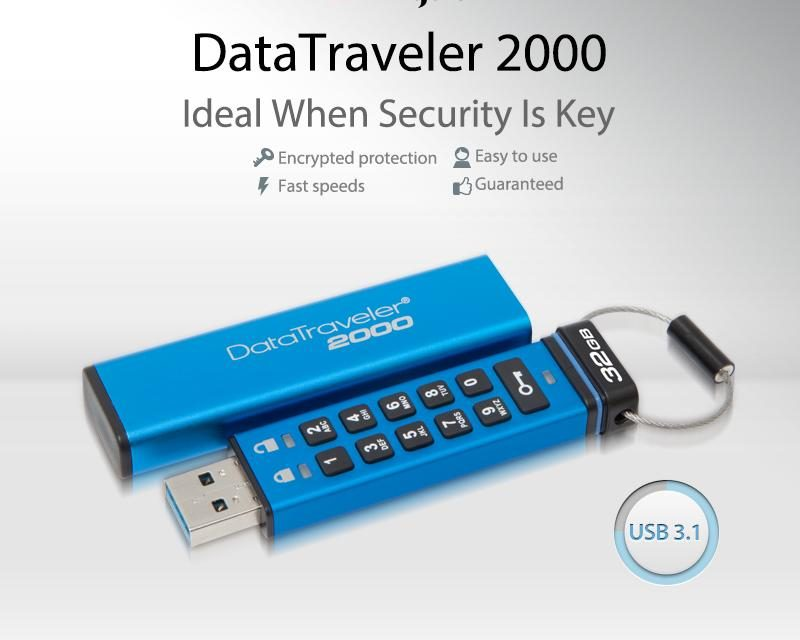 Kingston DataTraveler 2000 Review