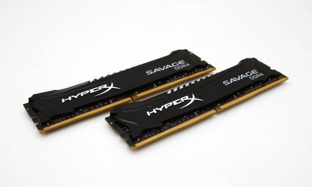 Kingston HyperX Savage DDR4 Review