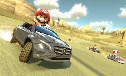 Próximo Evento de Mercedes GLA en Mario Kart 8
