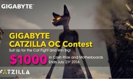 Gigabyte Catzilla OC, concurso para overclockers