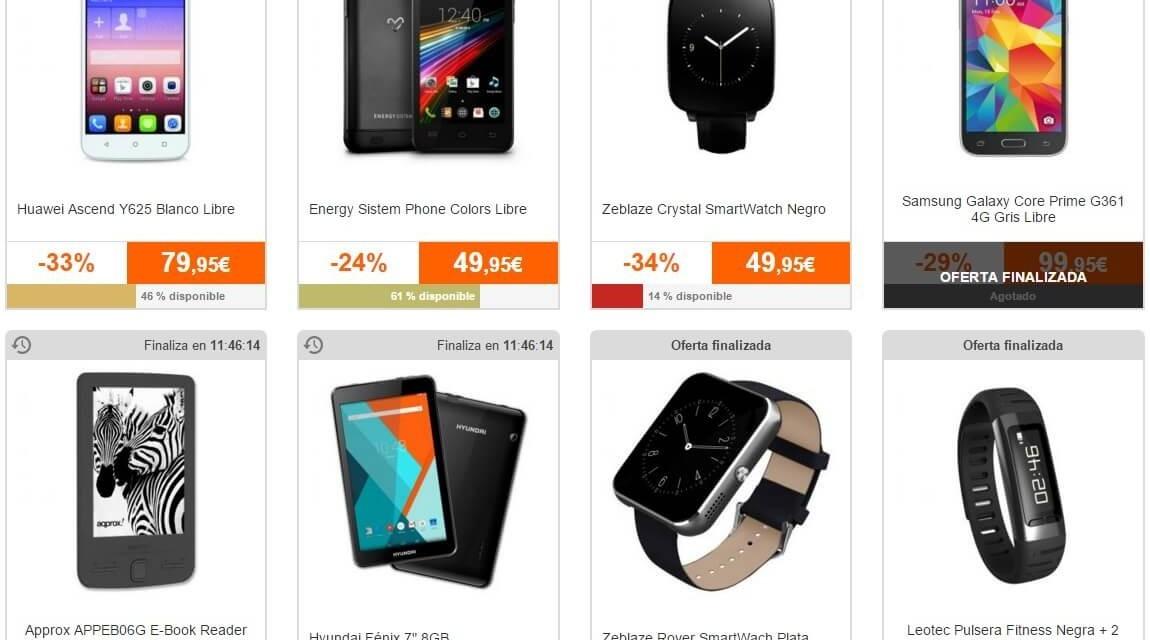 PCComponentes Black Friday Día 2: Telefonía, tablets y wearables