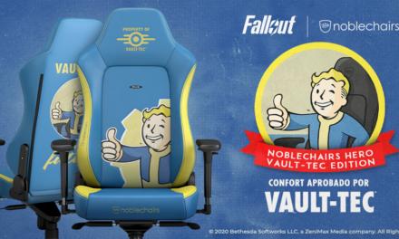 La silla Fallout Vault-Tec Edition de noblechairs ya está a la venta