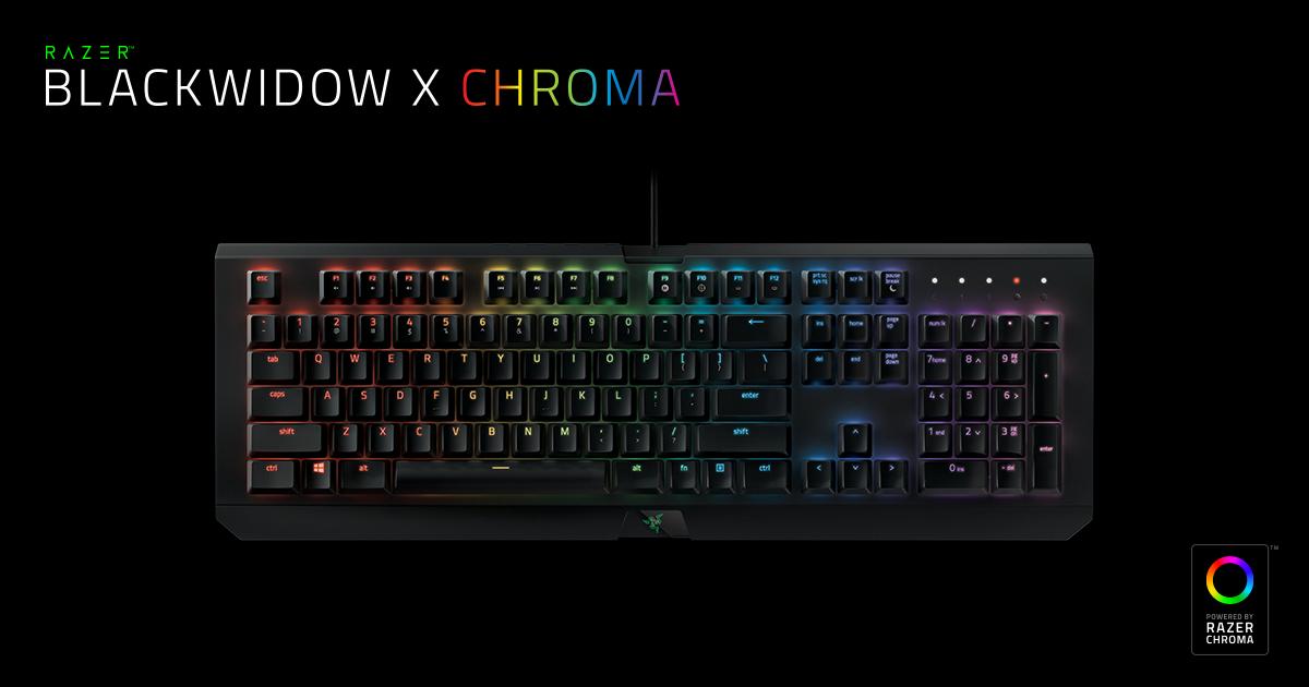 Razer BlackWidow X Chroma Review
