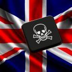 Reino Unido tras la pirateria