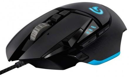 El nuevo ratón Logitech G502, disfruta de la máxima precisión