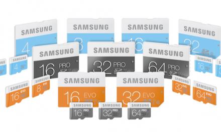 Samsung presenta su nueva legión de tarjetas de memoria