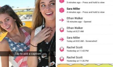 Facebook quiere competir con Snapchat con una app propía