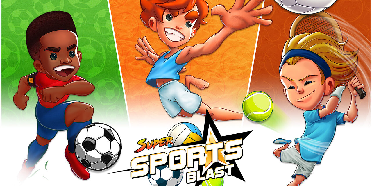 Prepárate para saltar al terreno de juego en Steam con Super Sports Blast